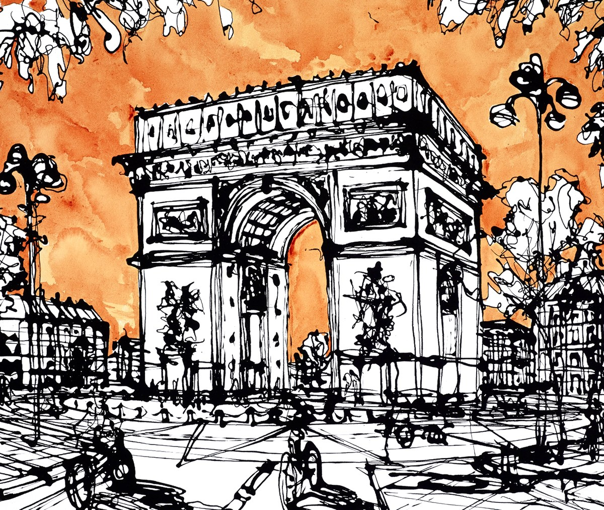 Avenue Marceau at the Arc by ingo